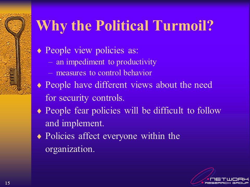 Why the Political Turmoil