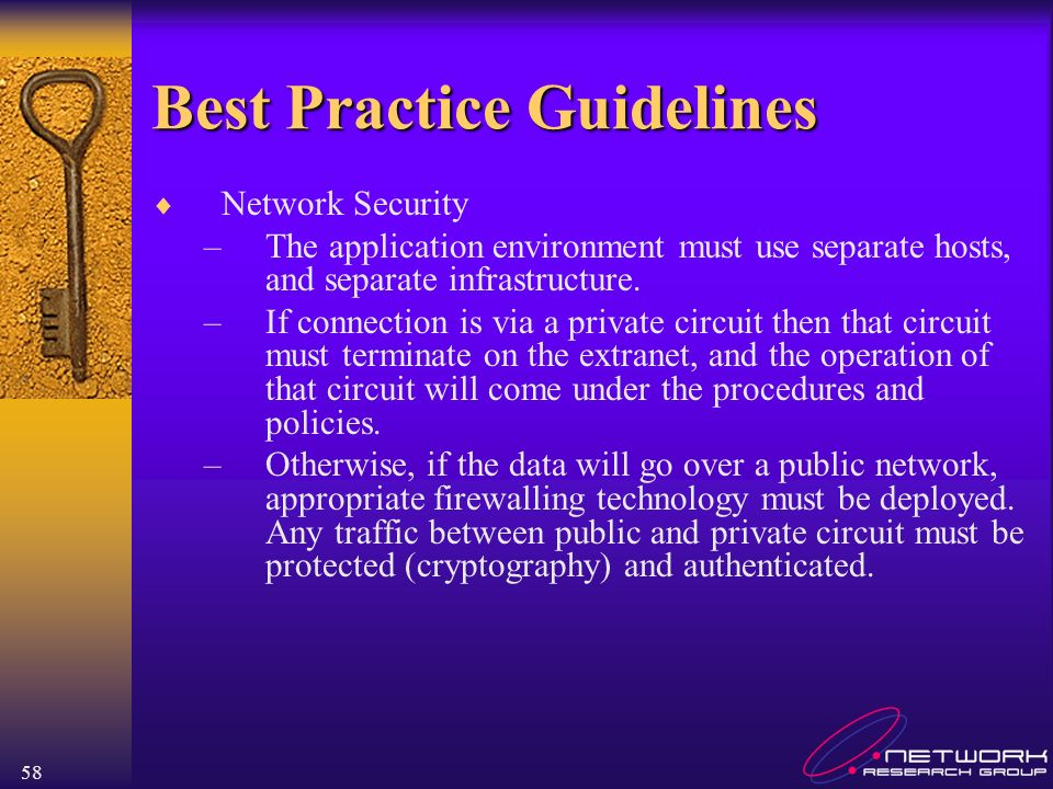 Best Practice Guidelines