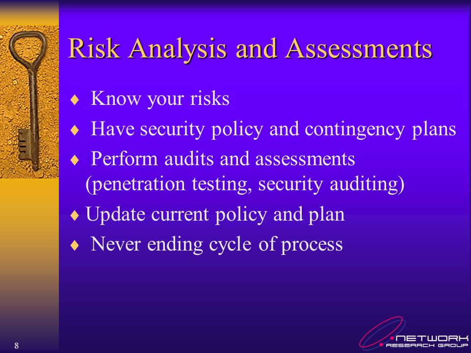 Risk Analysis and Assessments