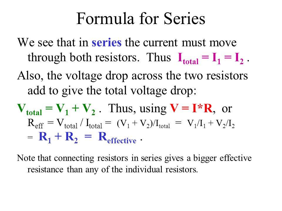 formula for voltage drop across a resistor - 28 images ...
