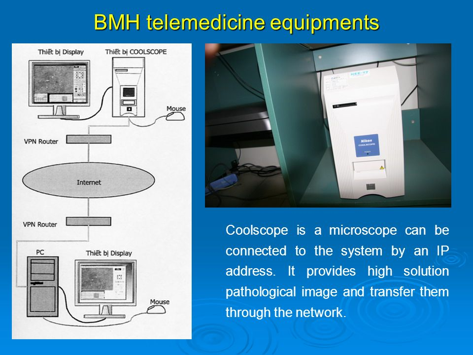 BMH telemedicine equipments