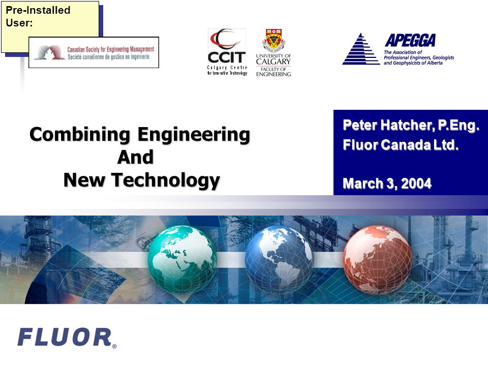 Combining Engineering And New Technology