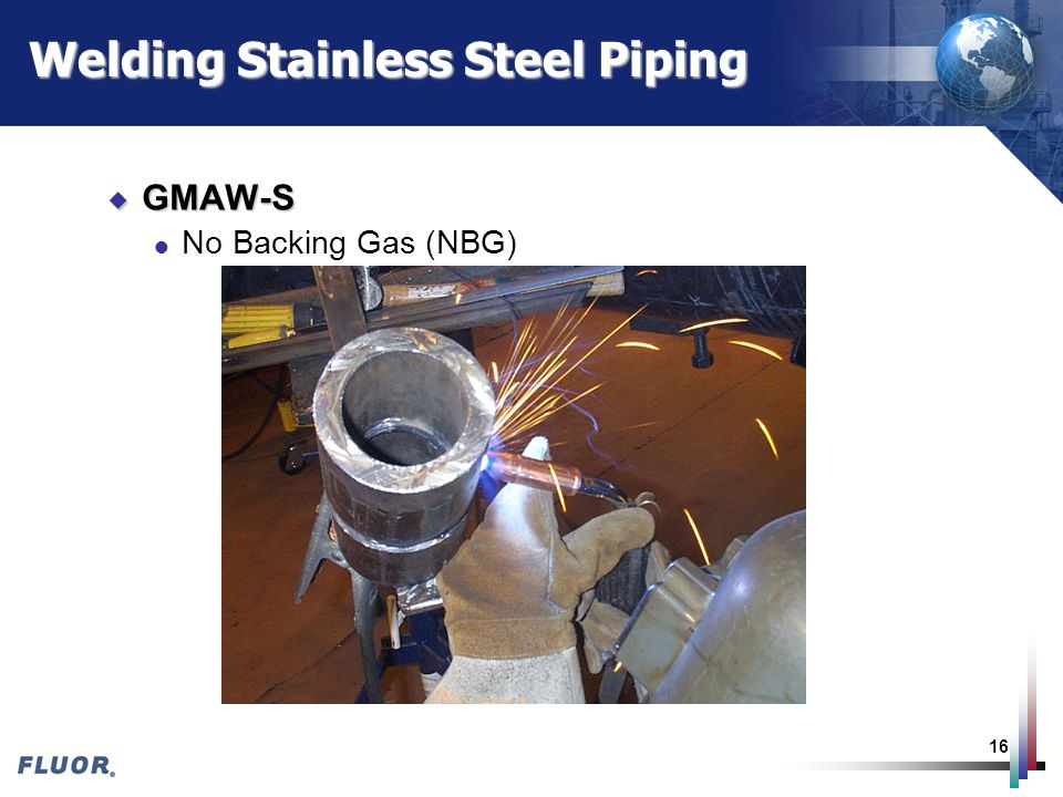 Welding Stainless Steel Piping