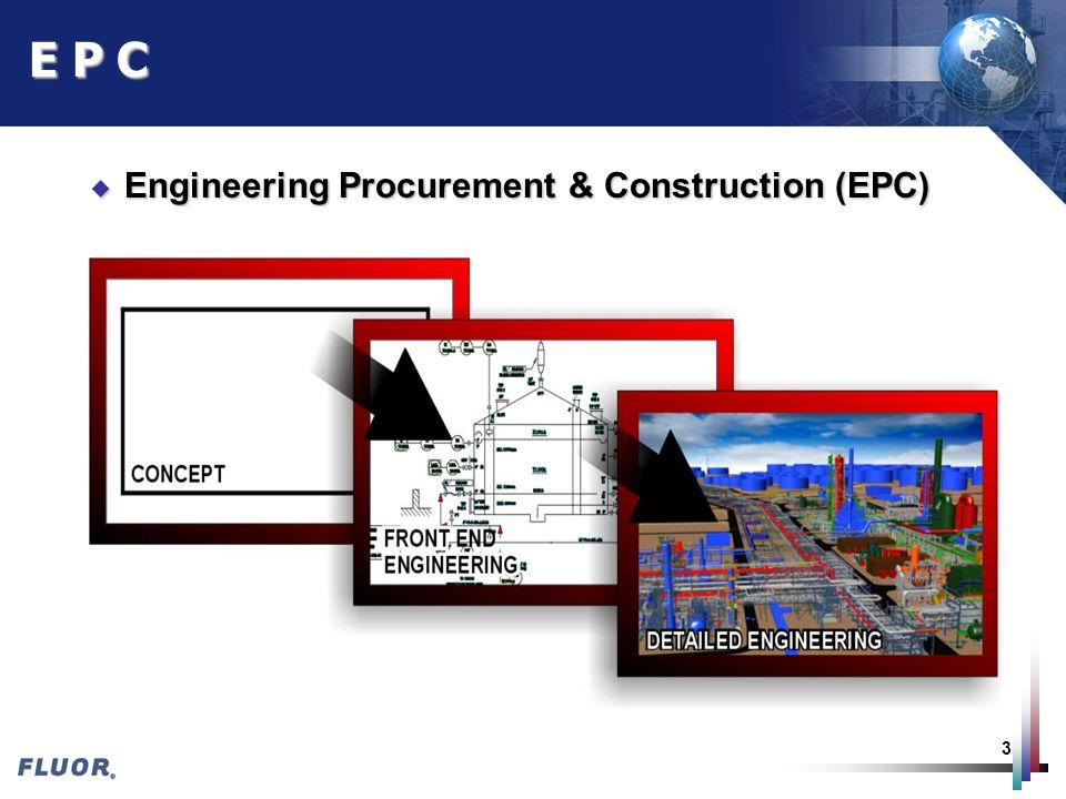 E P C Engineering Procurement & Construction (EPC)