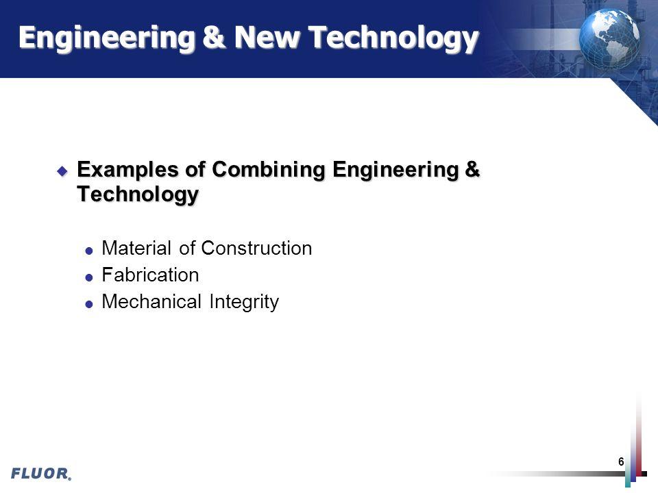 Engineering & New Technology