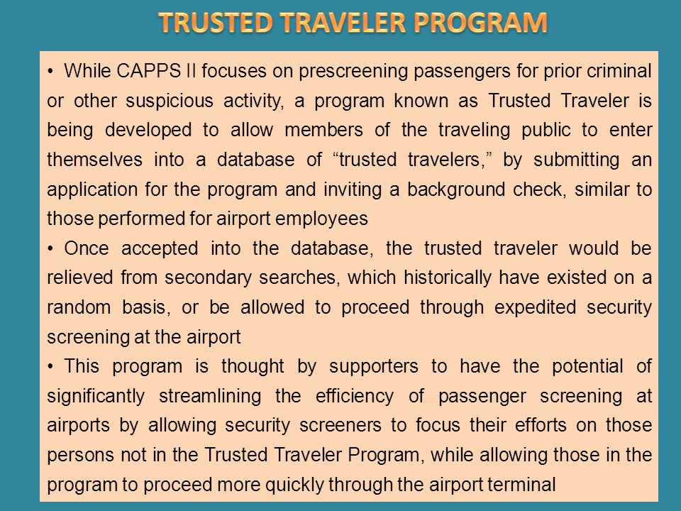 japan trusted traveler program