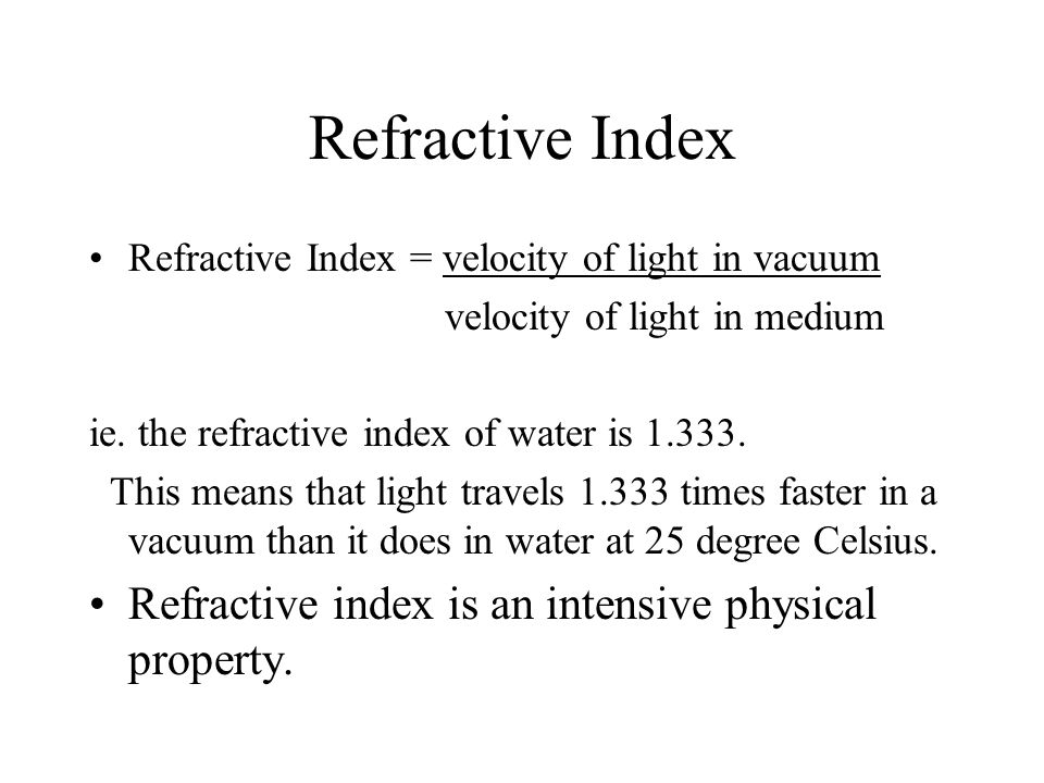 the physical properties of light essay
