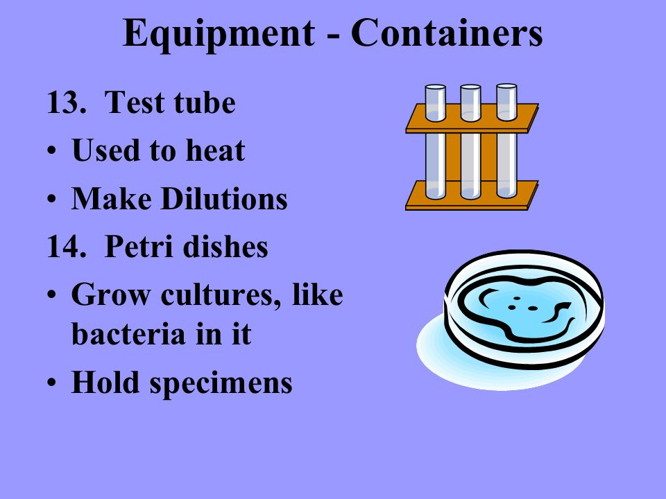 Equipment - Containers