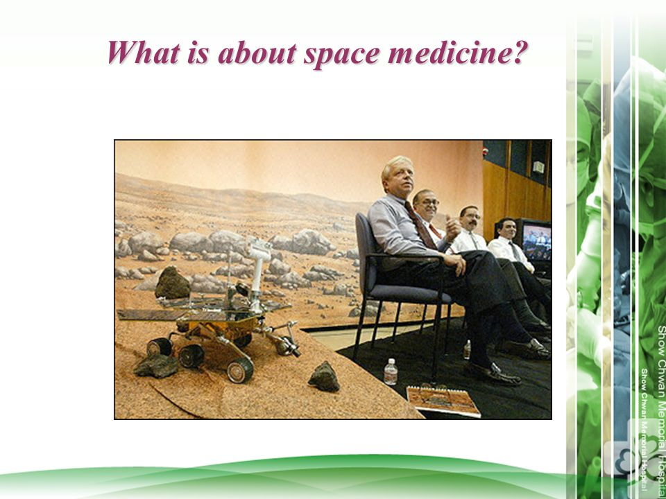 What is about space medicine