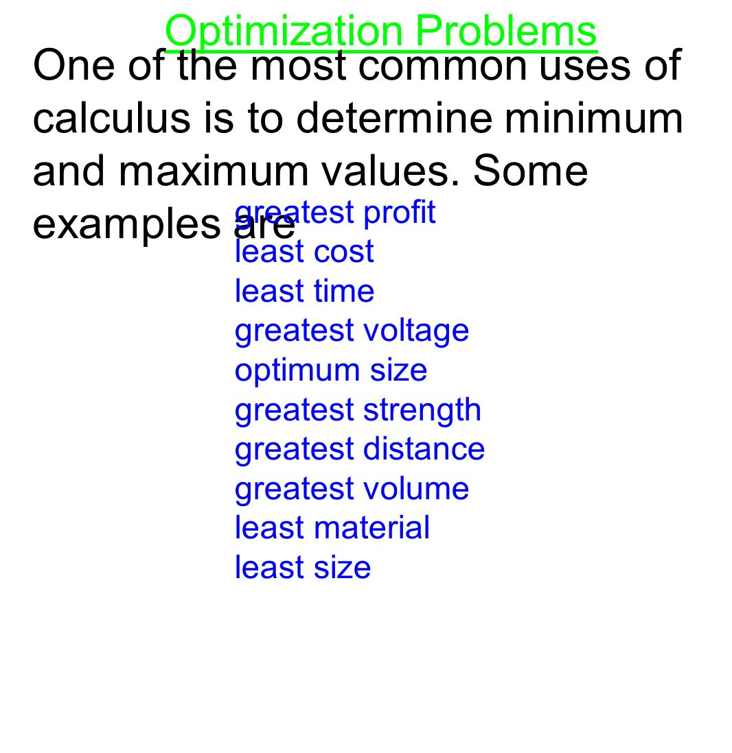 Ln x for 0 x 2 x2 ln 2 for 2 x 4 if fx ppt download 3 optimization problems robcynllc Choice Image
