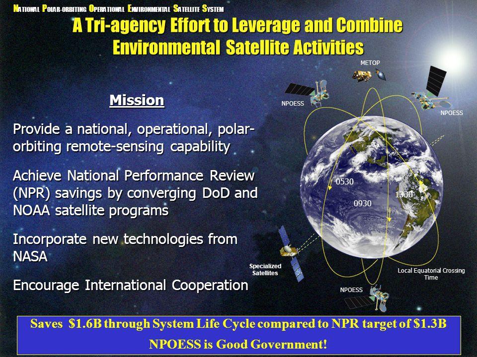 Specialized Satellites