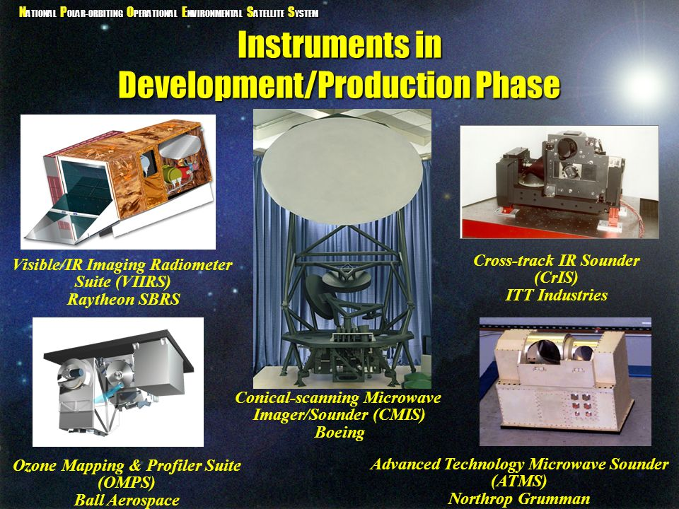 Instruments in Development/Production Phase