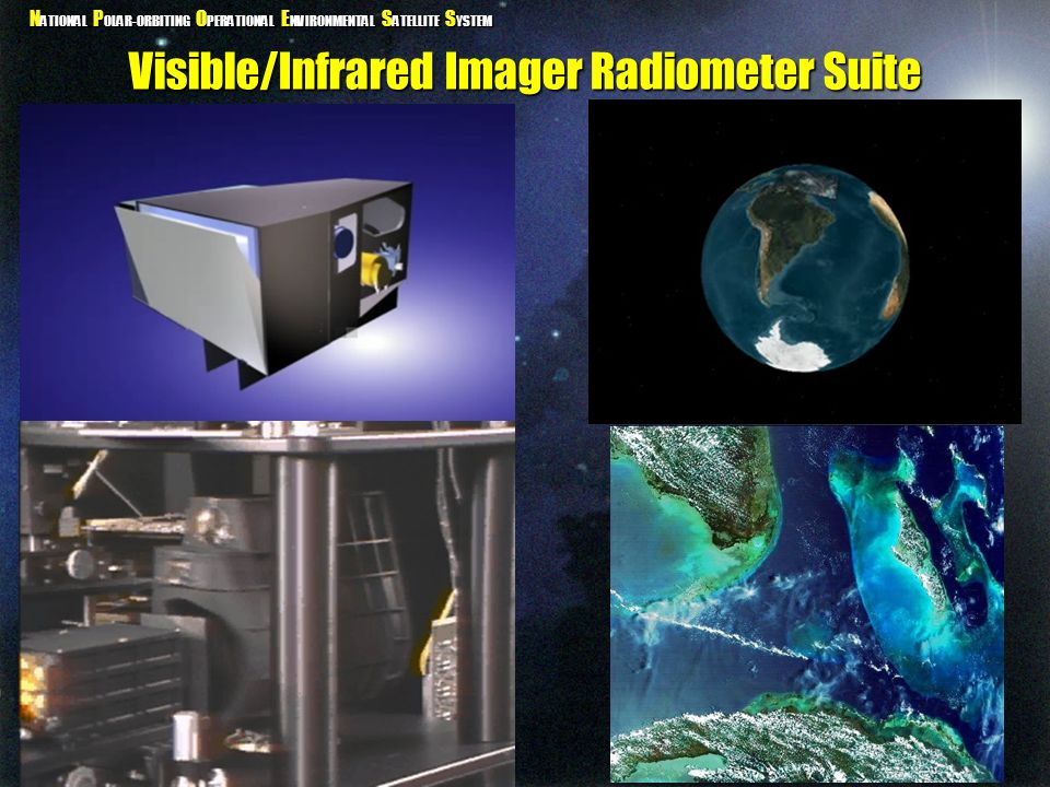 Visible/Infrared Imager Radiometer Suite