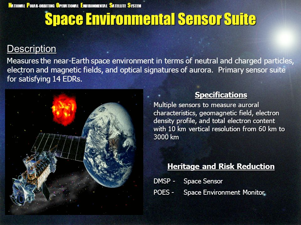 Space Environmental Sensor Suite