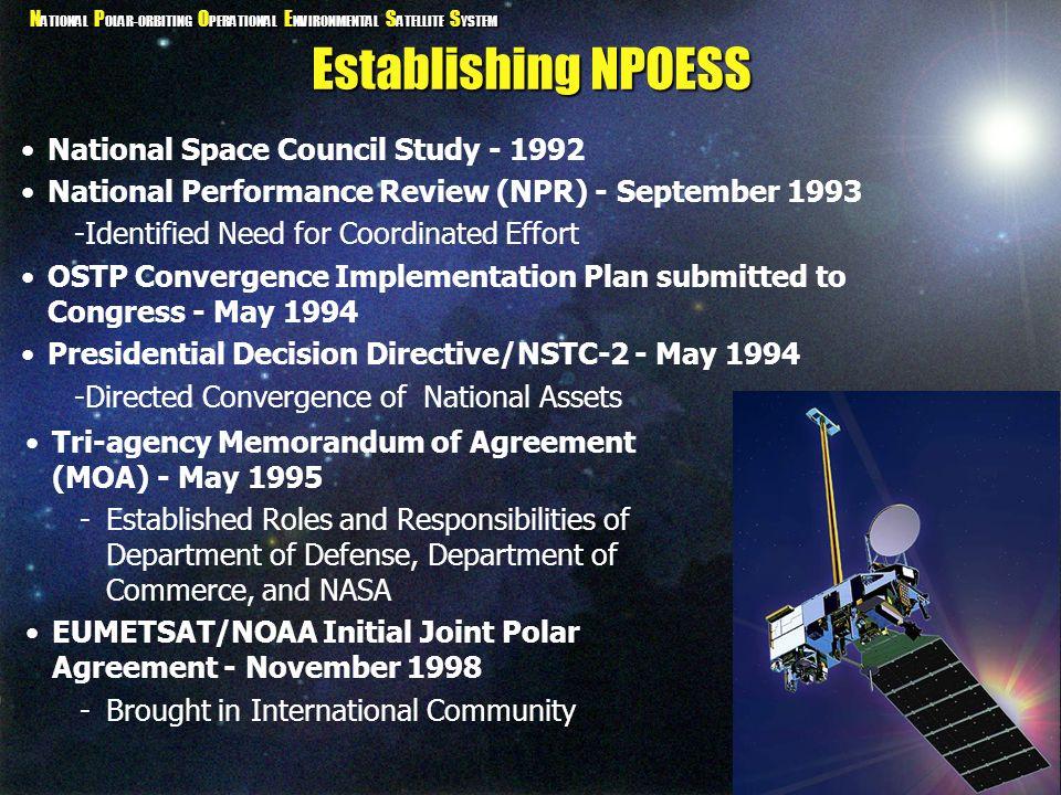 Establishing NPOESS National Space Council Study - 1992