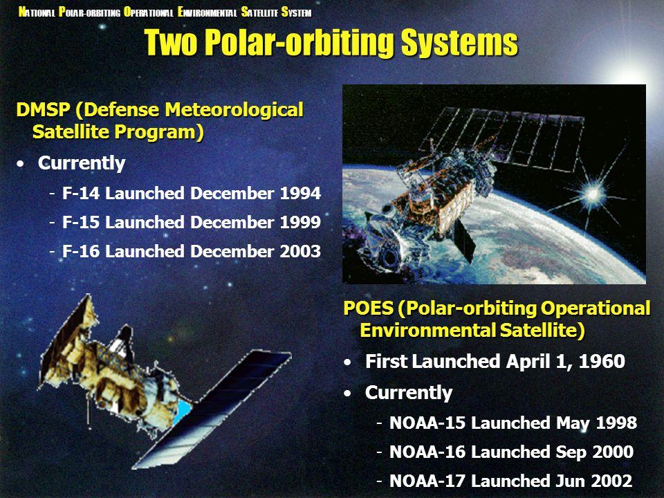 Two Polar-orbiting Systems