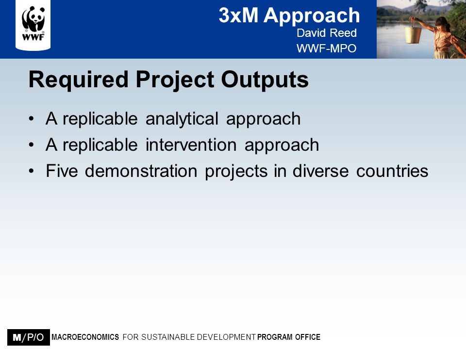Required Project Outputs