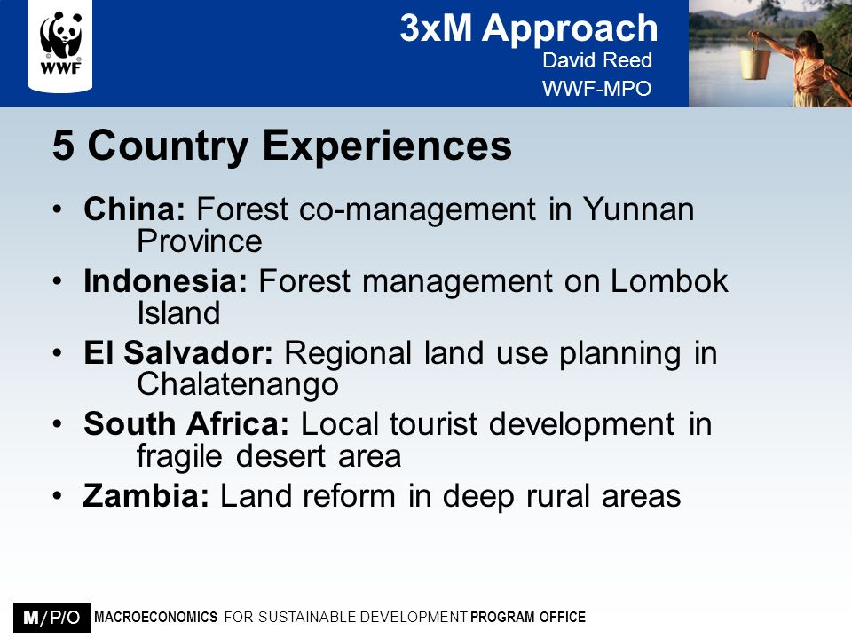 5 Country Experiences China: Forest co-management in Yunnan Province