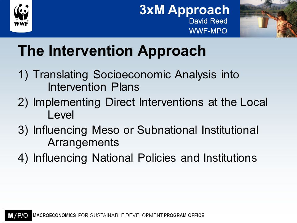 The Intervention Approach