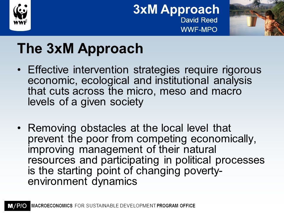 The 3xM Approach