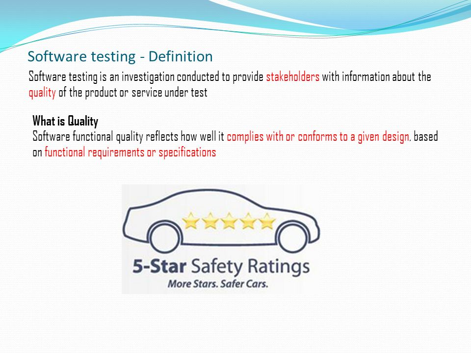 Quality Assurance Functional & Automation Testing - ppt ...
