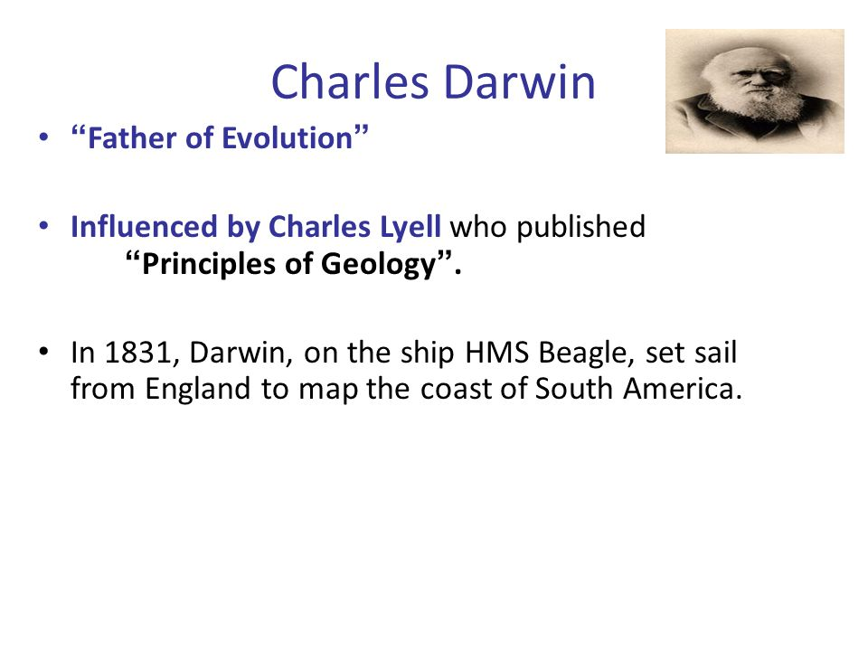 Charles Darwin Father of Evolution