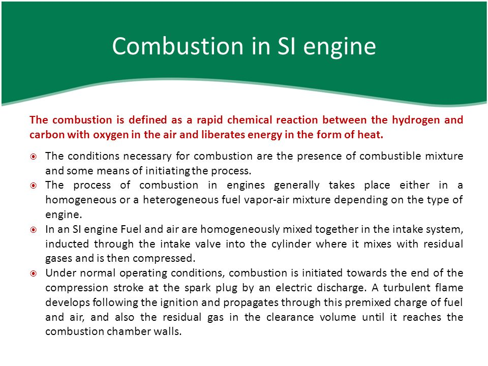 the four stages of a combustion Stages of combustion in ci engines the combustion in a ci engine is considered to be taking place in four stages.