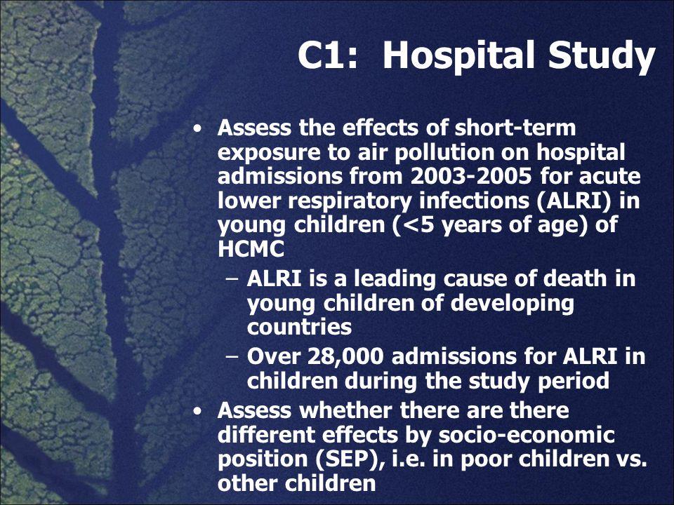 C1: Hospital Study