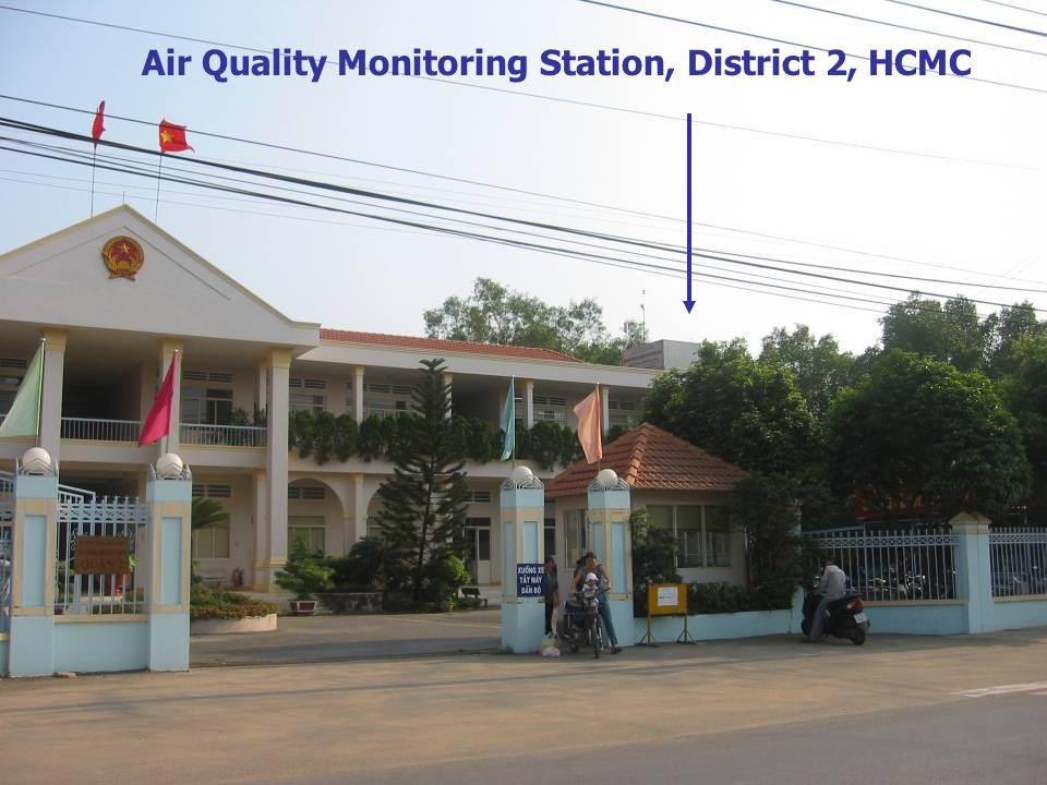 Air Quality Monitoring Station, District 2, HCMC