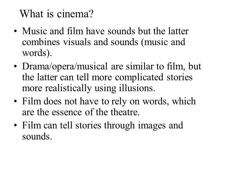 music and soundscapes introduction to film An introduction to film music professor roger parker i stand before you as gresham professor of music, in my third year of service, but of course with more than four hundred years of tradition to look back on i thus have innumerable authoritative and, if i dared examine them.