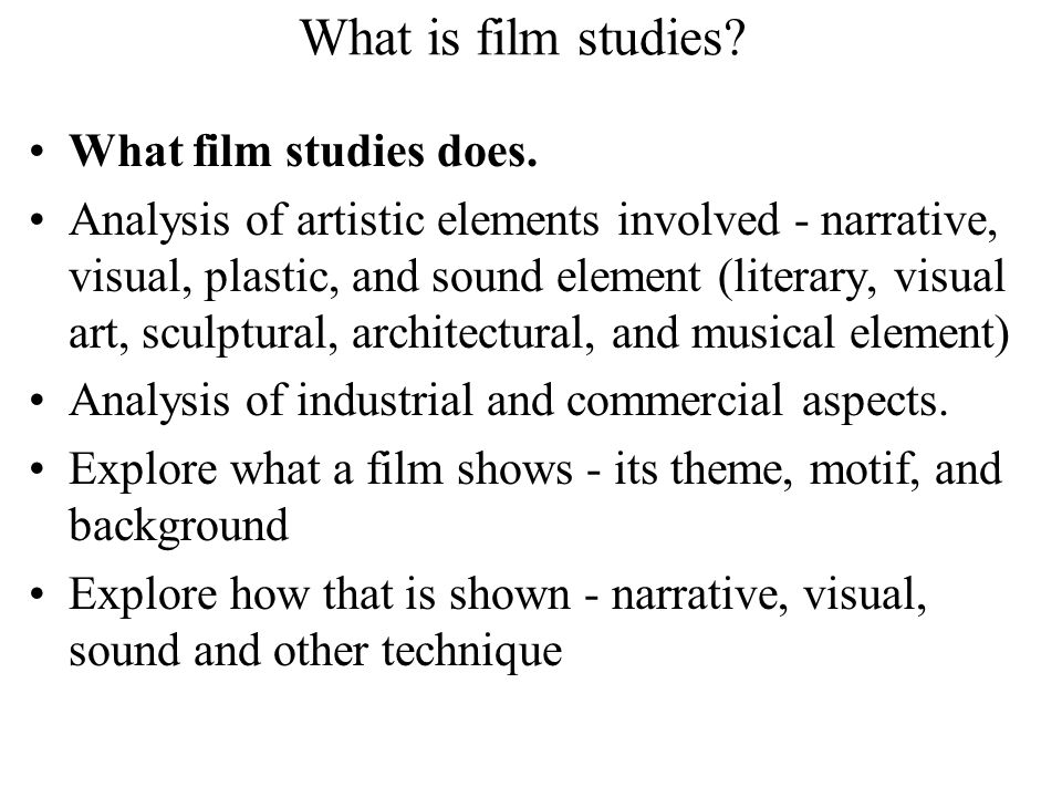 film sound analysis I need to write a 3 page essay analysing the films sound design in terms of amplifying the narrative it must show a comprehensive understanding.