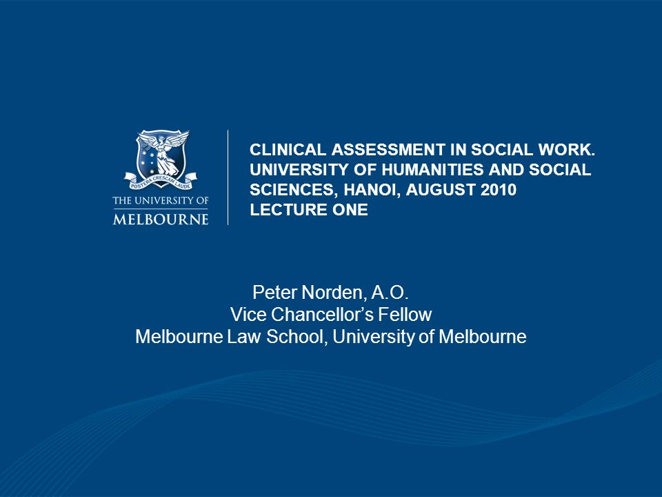 Vice Chancellor's Fellow Melbourne Law School, University of Melbourne