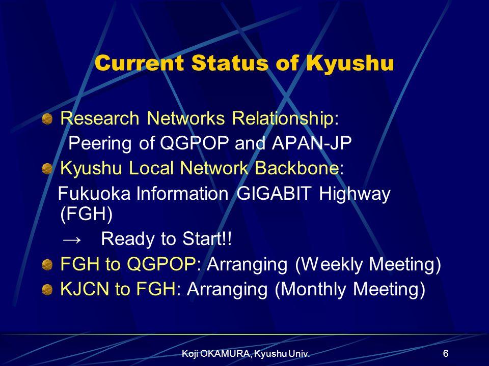 Current Status of Kyushu