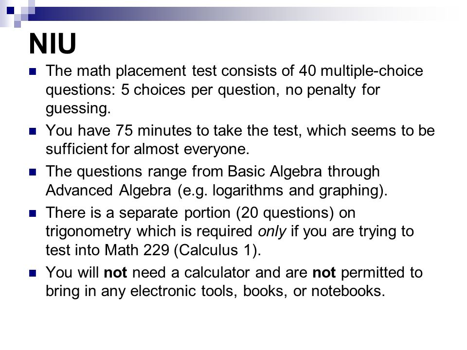 Multiple choice math test. Research paper Help kscourseworkolcy ...