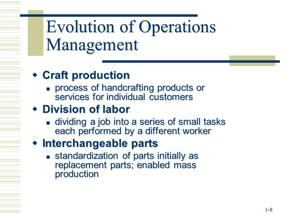 the evolution of the labor management process The nlra was a major turning point in american labor history because it was   they also want a way to force management to change what they see as  in the  process, over 100 people had been killed and many more were.