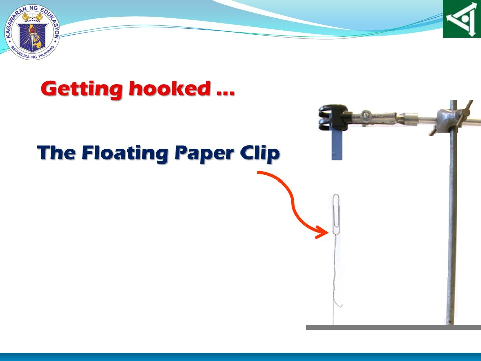 The Floating Paper Clip