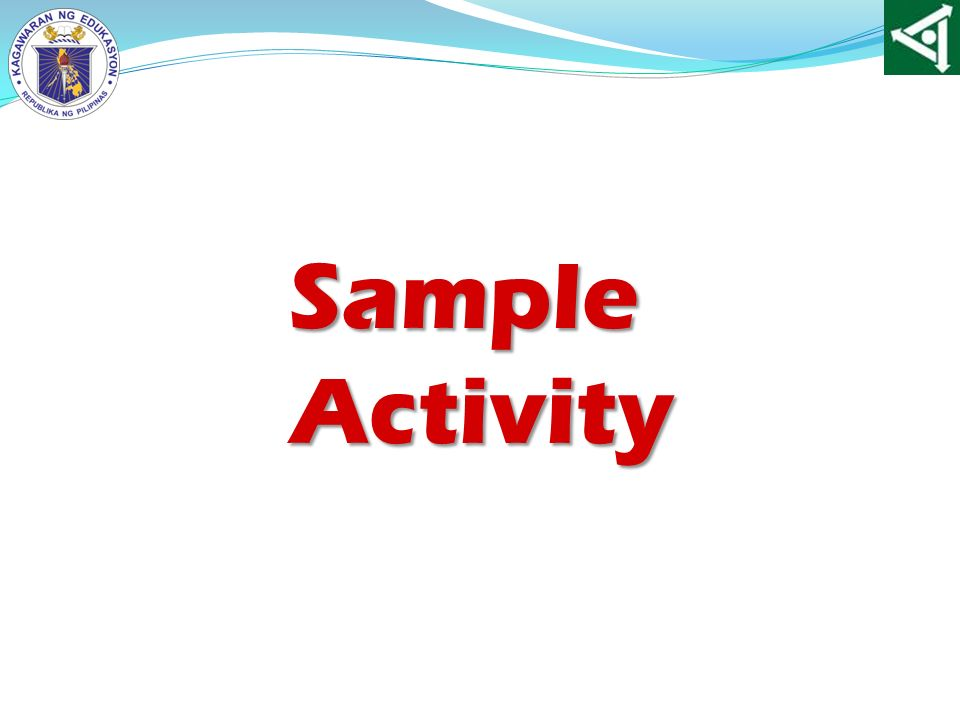 Sample Activity