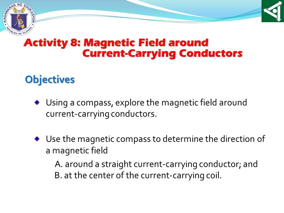 Activity 8: Magnetic Field around Current-Carrying Conductors