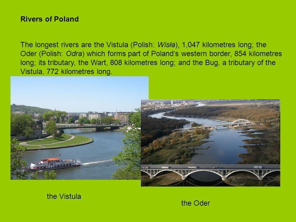 Rivers of Poland