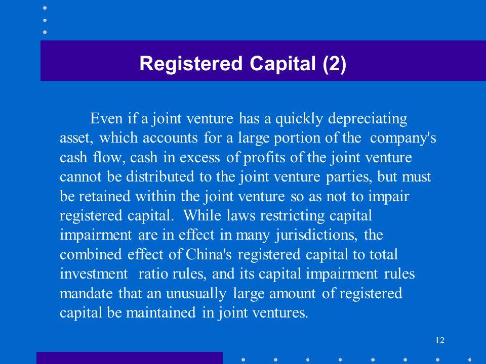 Registered Capital (2)