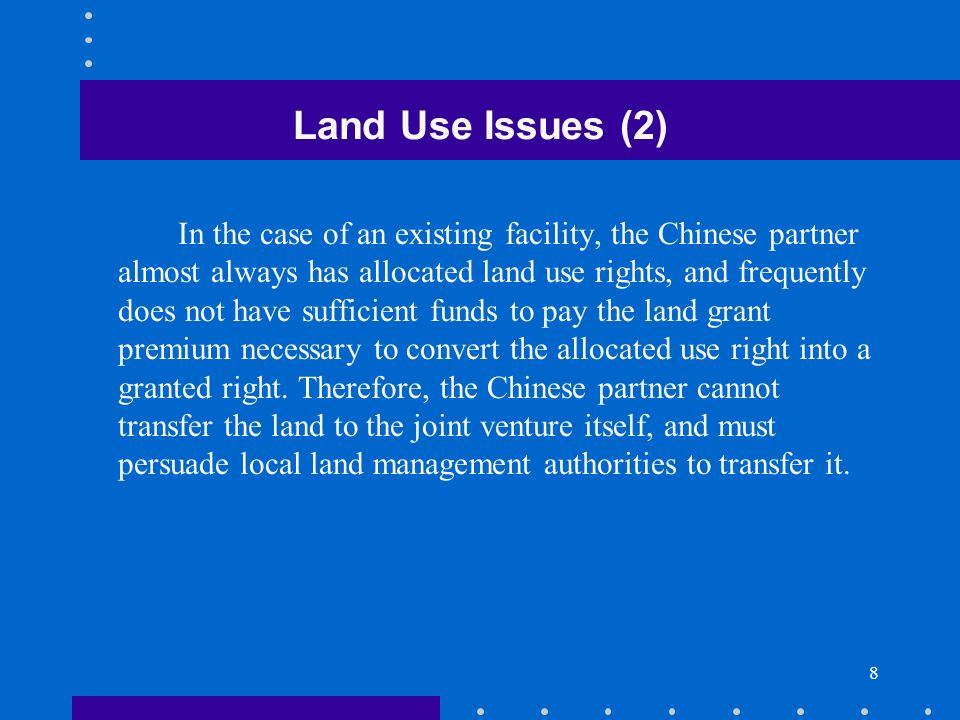Land Use Issues (2)
