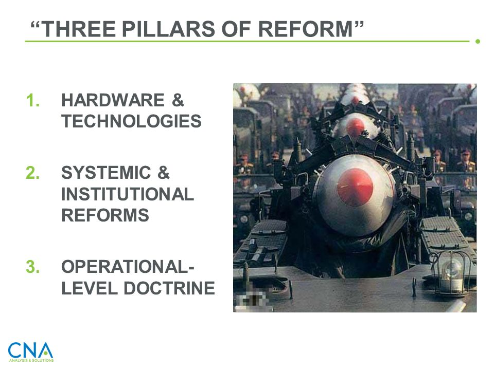 THREE PILLARS OF REFORM