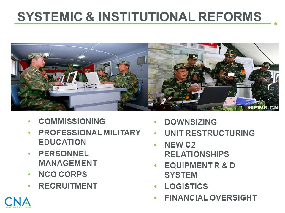 SYSTEMIC & INSTITUTIONAL REFORMS