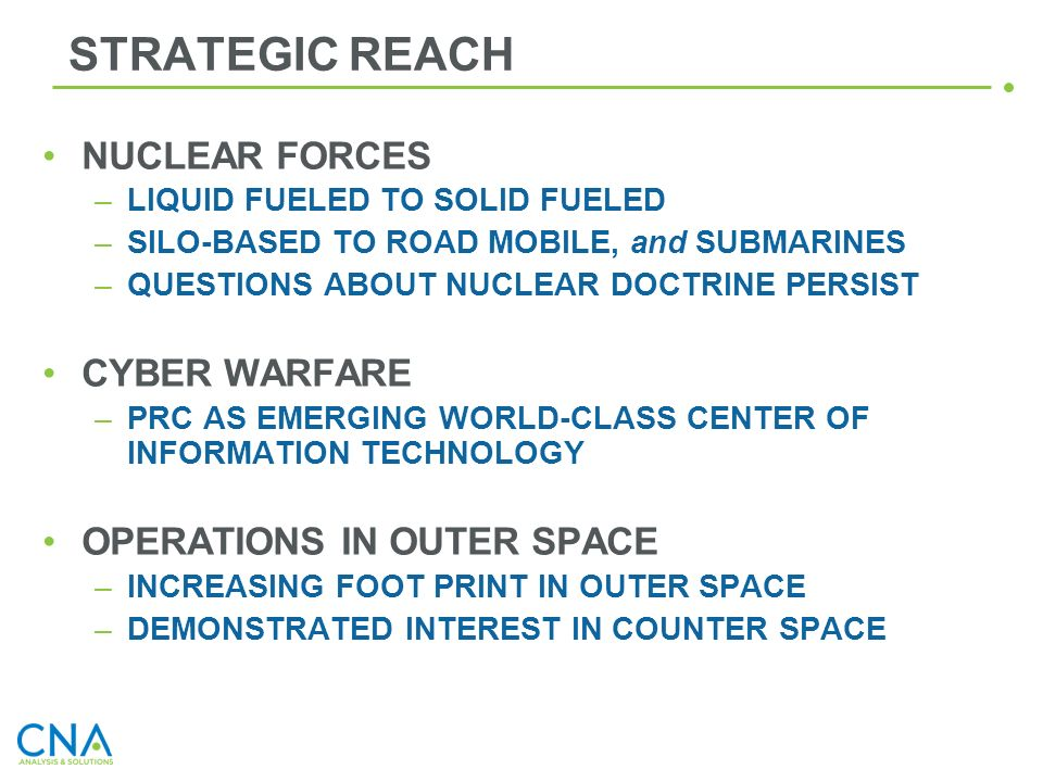 STRATEGIC REACH NUCLEAR FORCES CYBER WARFARE OPERATIONS IN OUTER SPACE