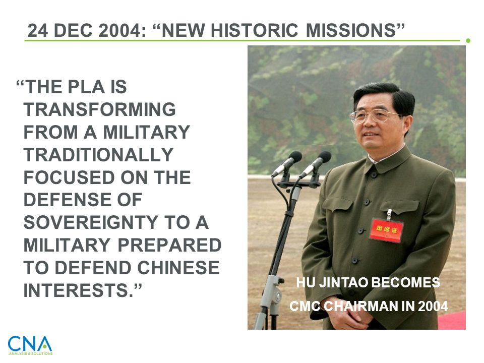 24 DEC 2004: NEW HISTORIC MISSIONS