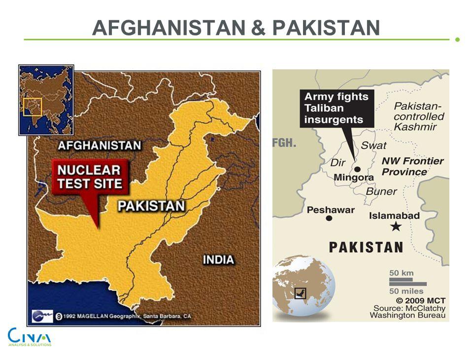 AFGHANISTAN & PAKISTAN