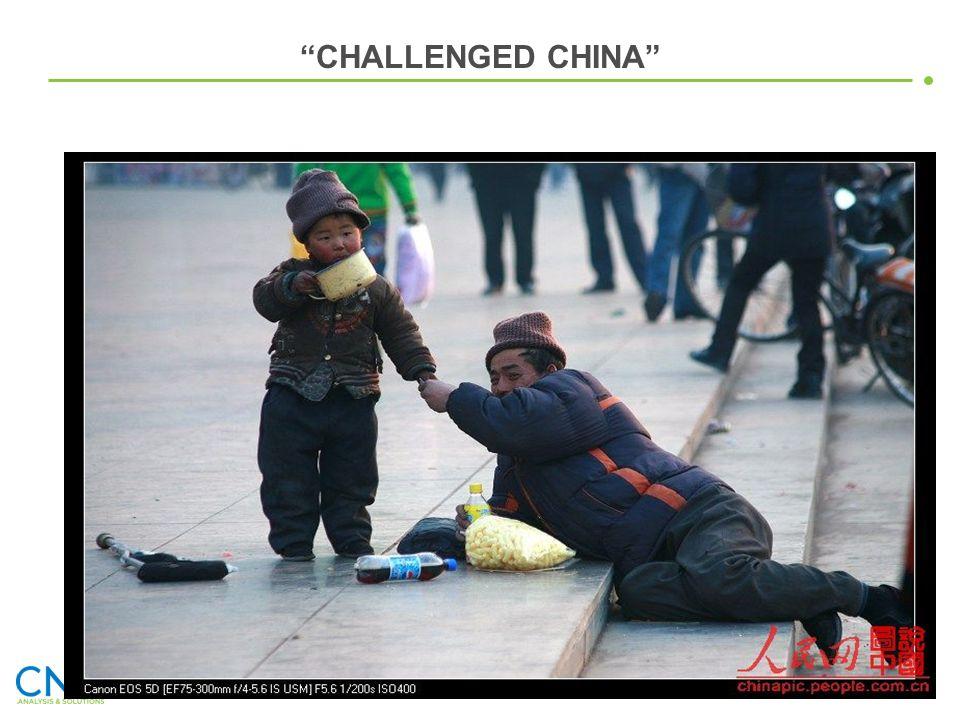 CHALLENGED CHINA