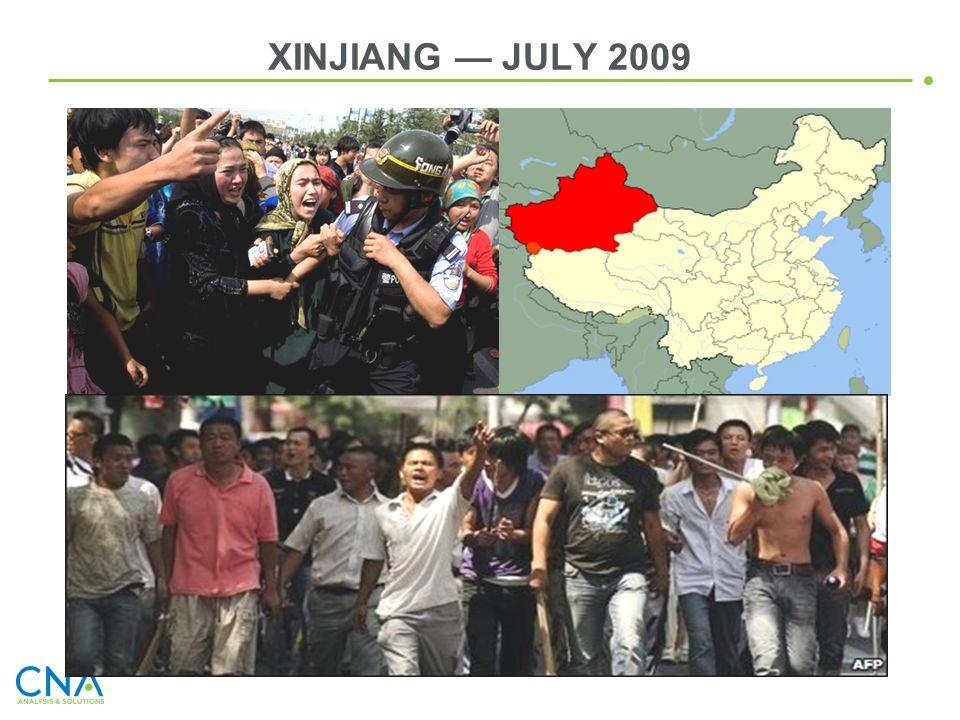 XINJIANG — JULY 2009
