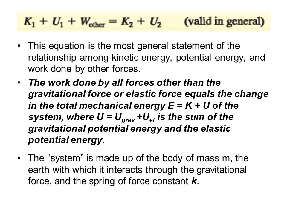 gravitational potential energy and work relationship