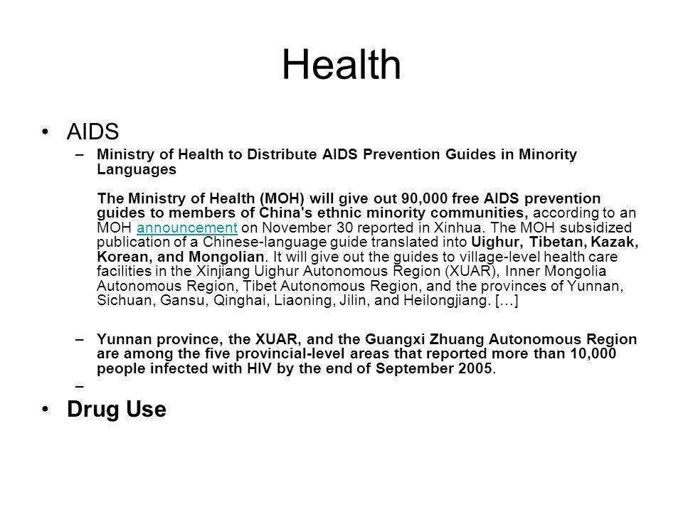 Health AIDS.